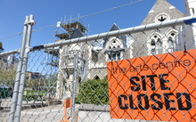Asbestos was discovered at the old Christchurch Boys High building, which is now part of the Christchurch Arts Centre.
