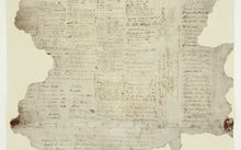 The 'Waitangi Sheet' of the 1840 Treaty of Waitangi, which is made up of nine documents.