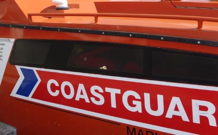 Coastguard Marlborough president Dick Chapman and the rescue vessel about to be replaced with a newer, faster, purpose-built model.
