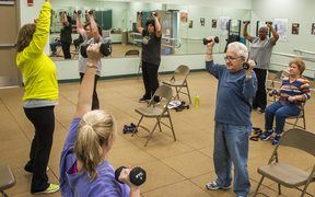 Exercise helps prevent age related muscle loss