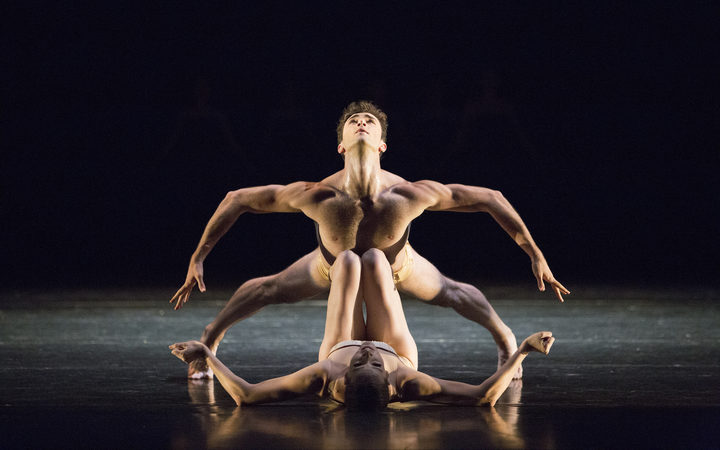 The Australian Ballet Petite Mort with dancers Alice Topp and Christiano Martino