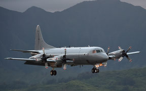 NZDF Air Force P-3 Orion