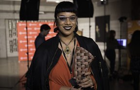 Ladi 6 was named best pacific female artist at the Vodafone Pacific Music Awards.