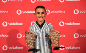 12-year-old sensation General Fiyah who won the People's Choice Award, and Best Song at the 2018 Pacific Music Awards