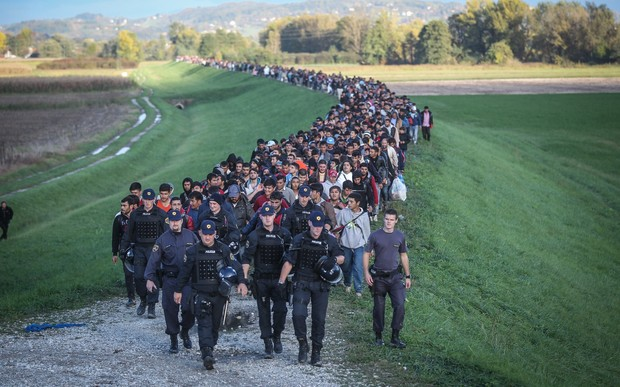slovenia struggles with refugee influx rnz news