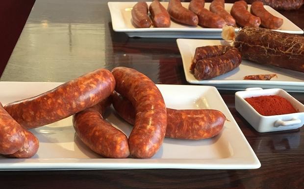 Chorizo sausage.