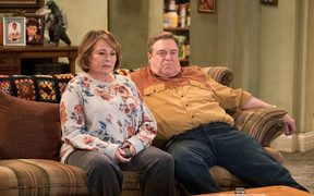 Roseanne Barr and John Goodman in the 2018 revival of 'Roseanne'.