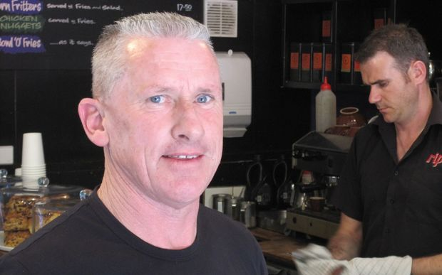 Café owner Darryl Ellis is taking an extra $500 a day