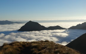 Kepler Track above the clouds