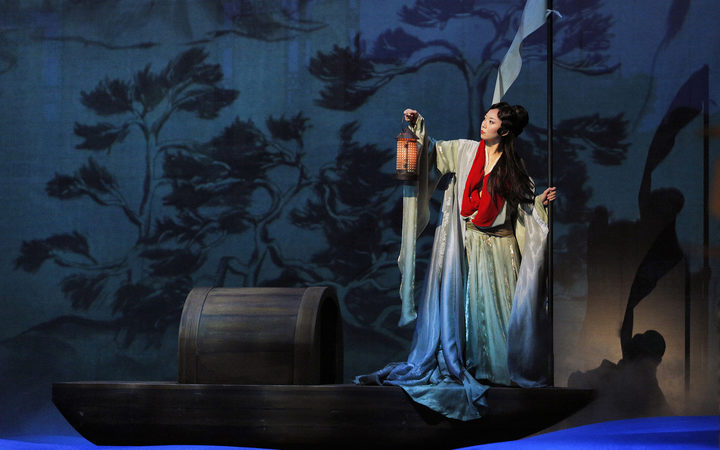 A scene from Dream of the Red Chamber at San Francisco Opera