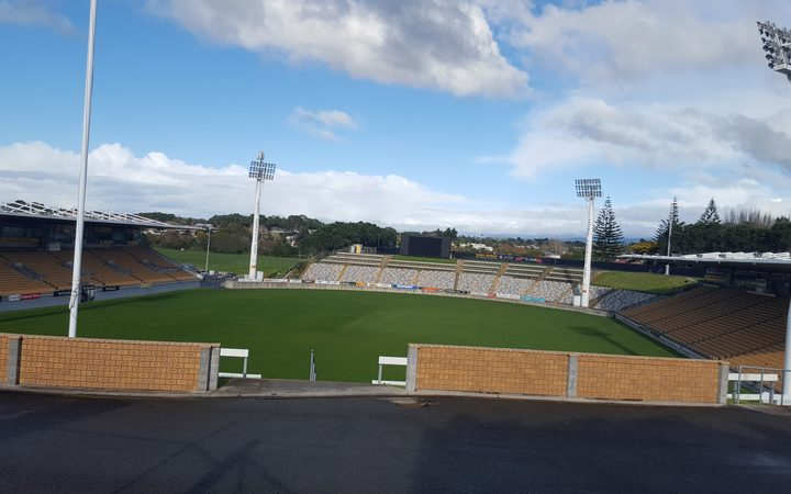 Yarrow Stadium in New Plymouth.