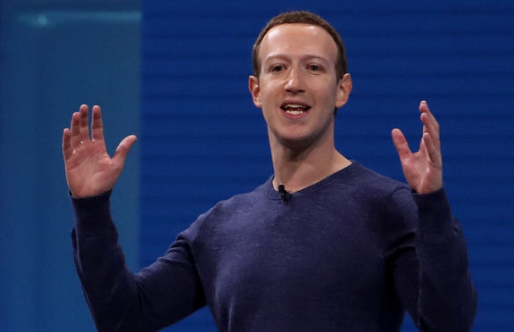 Facebook CEO Mark Zuckerberg speaking during the F8 Facebook Developers conference in San Jose, California.
