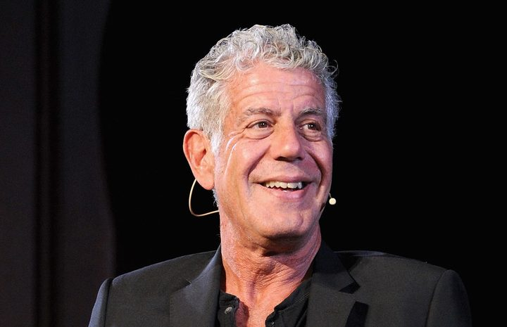 Anthony Bourdain in 2017