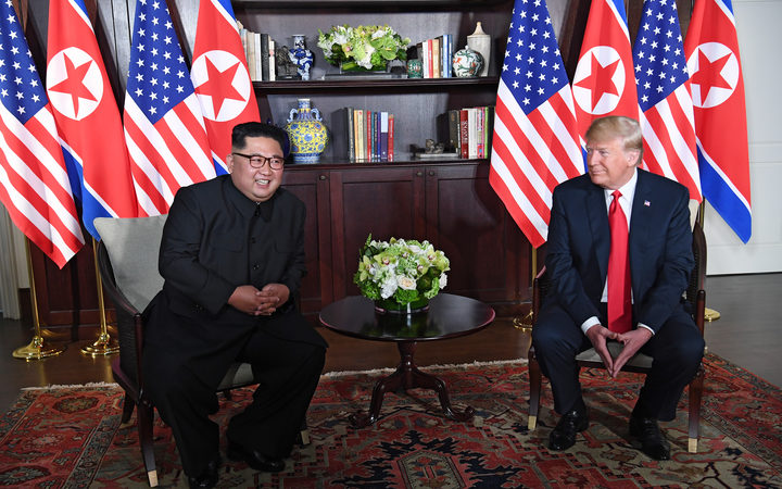 Twitter's emoji for Trump's North Korea nuclear summit is very weird