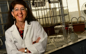 Chemist Michele Prinsep is a 'drug hunter.'