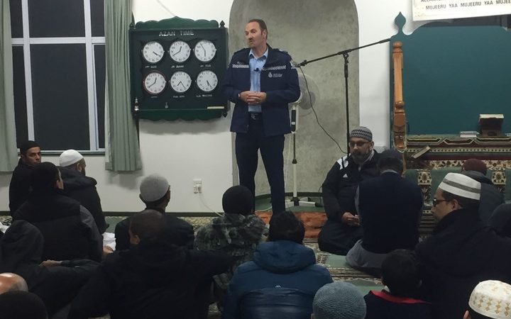 Officers joined Muslims for Ramadan at NZMA's Islamic centres and mosques this year.
