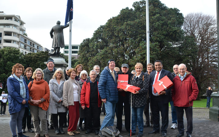 Kāpiti residents went to parliament to hand in a petition signed by more than 20,000 people in support of a hospital for the region.