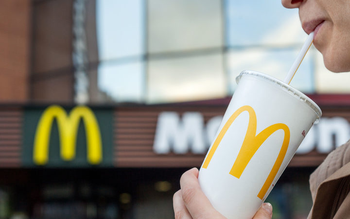 McDonald's selling paper straws in UK