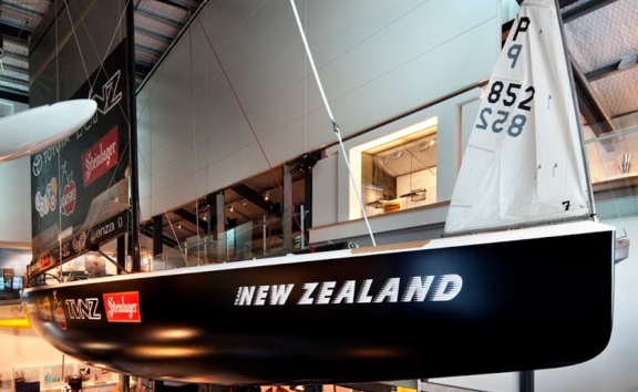 'Blue Water, Black Magic' Gallery, New Zealand Maritime Museum.