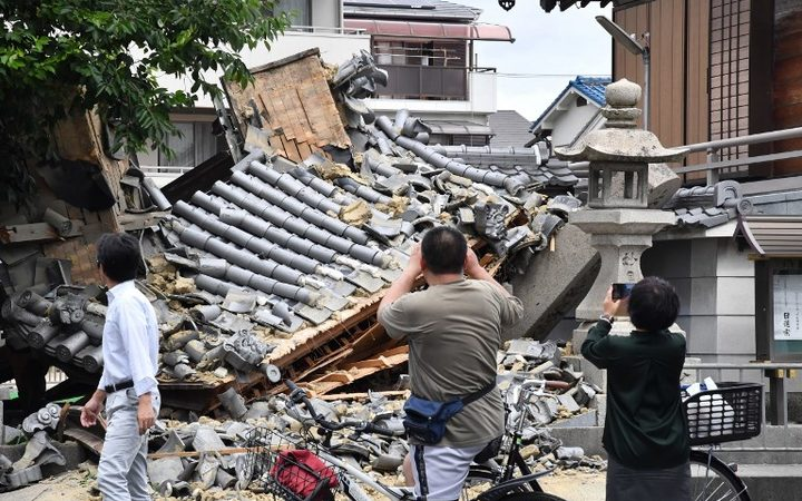 More than 210 injured in Osaka-area quake