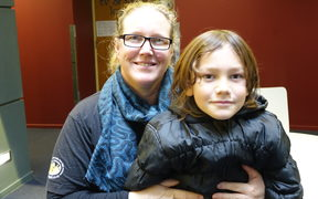 Filmmaker Jessie McVeagh and her son Kahu.