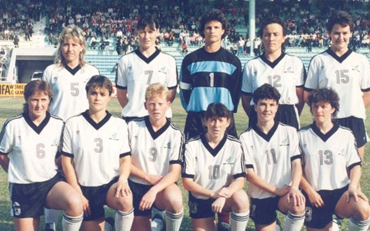 The Football Ferns at the 1991 FIFA women's World Cup
