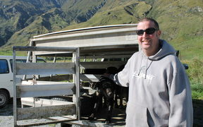 Farmer Randall Aspinall from Mt Aspiring Statio