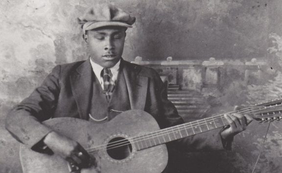 Blues singer Blind Willie McTell (1898 – 1959)