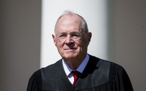 US Supreme Court Justice Anthony Kennedy was first nominated to the high court by President Reagan and confirmed in 1988.