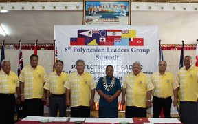 Polynesian Leaders Group summit in Tuvalu, 28 June 2018.