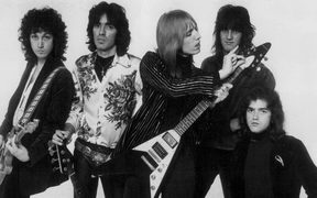 Tom Petty and the Heartbreakers in 1977.