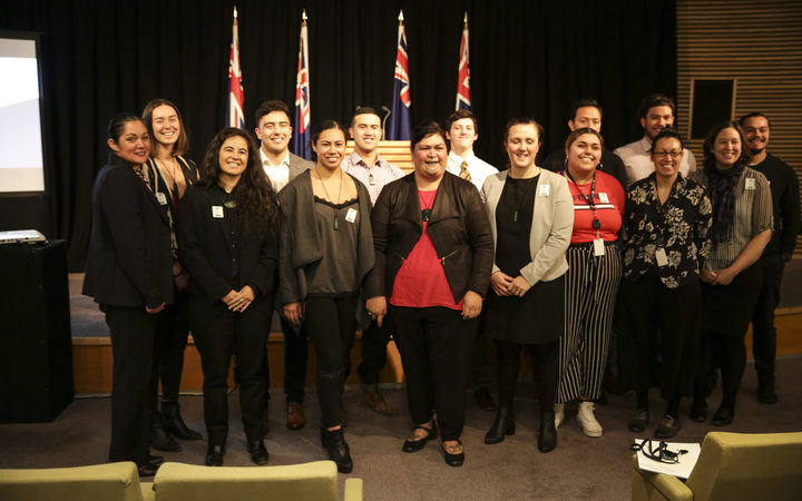 The group reported their experiences to Māori Development Minster Nanaia Mahuta.