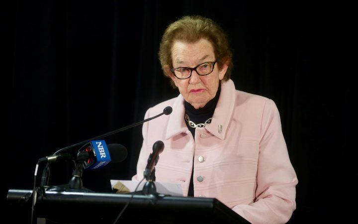 Dame Margaret Bazley led the review into Law firm Russell McVeagh.