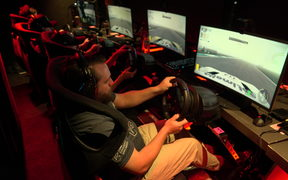 Gamers compete to be the New Zealand number 1 at the Project Car 2 champs in Auckland