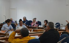 The (Cooks) Cook Islands Parliament in session
