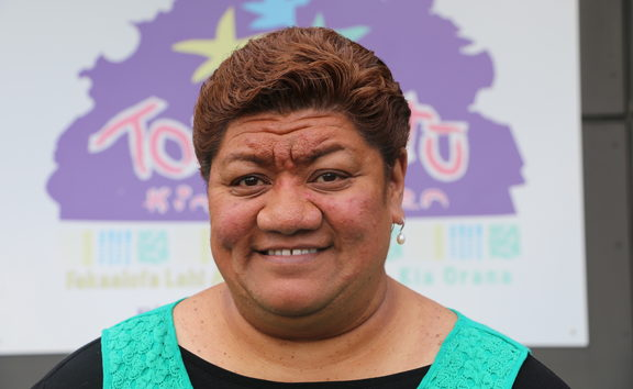 Caroline Mareko the whanau manaaki at Toru Fetu Kindergarten.