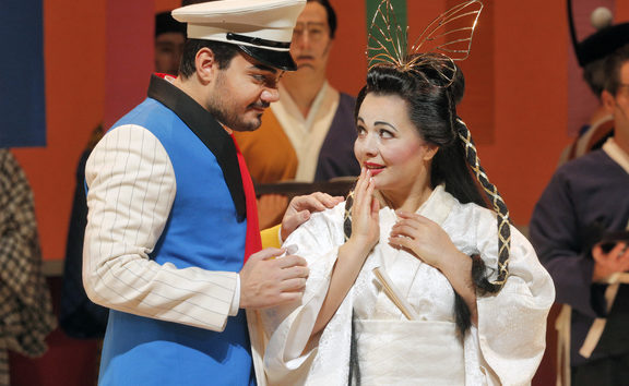A scene from Madama Butterfly at San Francisco Opera