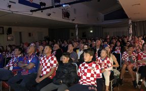 A nervous audience at the Croatian Club in Te Atattu