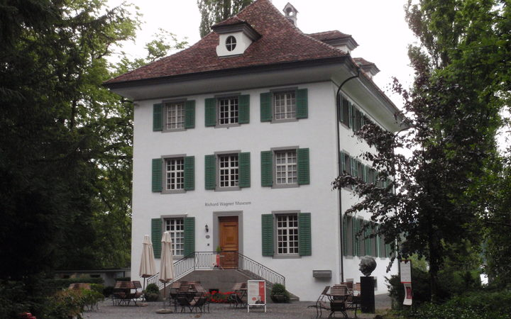 Richard  and Cosima Wagner's house in Tribschen Switzerland