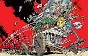 Comic book: Hypercapitalism; the modern economy, its values, and how to change them