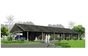 The design for New Zealand's new chancery building in Niue.