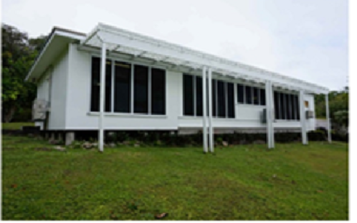 New Zealand's old chancery building in Niue