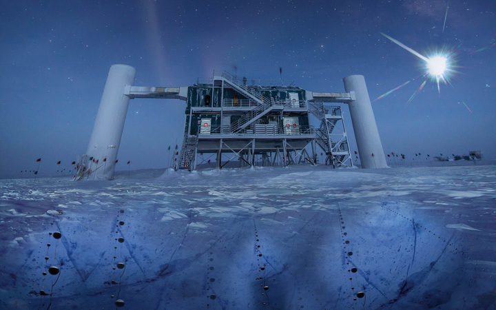 Ghost particles from outer space: Scientists discover distant source of neutrinos