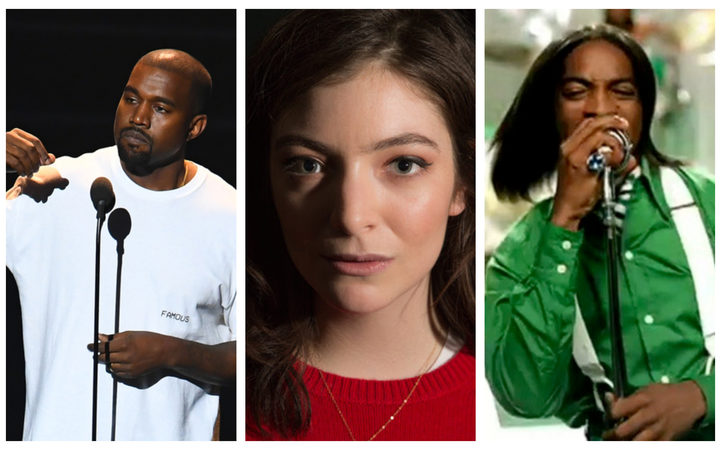 Kanye, Lorde and Outcast