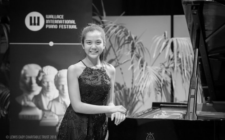 Wallace National Jr Piano Competition 2018 winner Ashani Waidyatillake