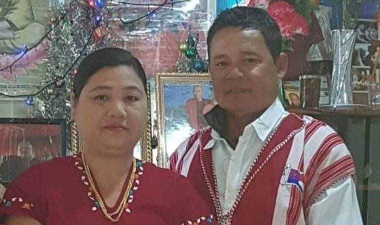 Kay Dah Ukay (right) and his wife Mu Thu Pa (left). The couple, who were not wearing lifejackets, died after being swept off rocks while fishing at Muriwai.