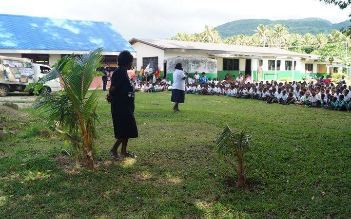 Environmental project in Vanuatu helps people adapt to new