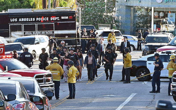 Police name murder suspect in Los Angeles store hostage standoff
