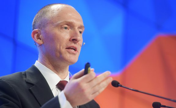 Former foreign policy adviser to Donald Trump Carter Page.