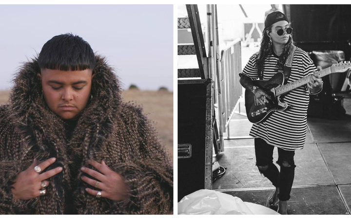 Australian artists who've got mojo! Mojo Juju and Tash Sultana